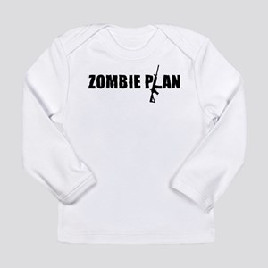 Zombie Plan for Zombiekamp.com Long Sleeve Infant