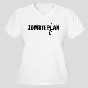 Zombie Plan for Zombiekamp.com Women's Plus Size V