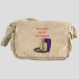Notary Messenger Bag