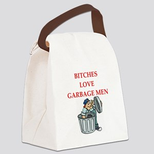 trash Canvas Lunch Bag