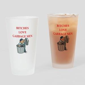 trash Drinking Glass