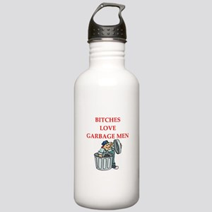 trash Stainless Water Bottle 1.0L