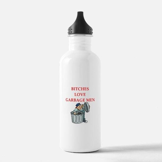 trash Water Bottle