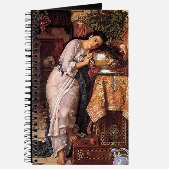 Isabella and Pot of Basil by Holman Hunt Journal