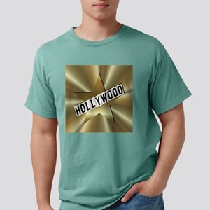hollywood sign button2.p Mens Comfort Colors Shirt