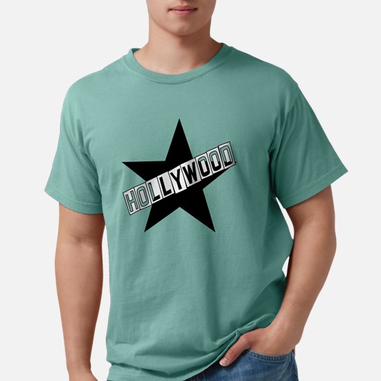 hollywood sign color.png Mens Comfort Colors Shirt