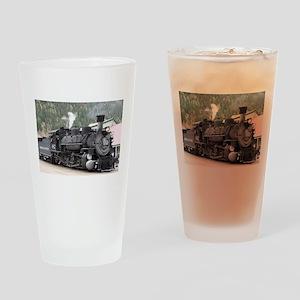 Steam Train: Colorado Drinking Glass