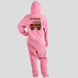 school2ndgrader Footed Pajamas