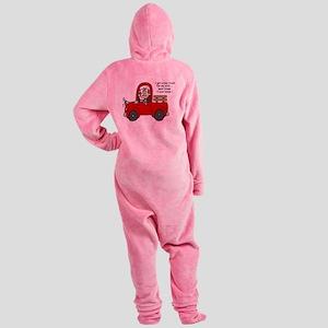 jdfunnymansix Footed Pajamas