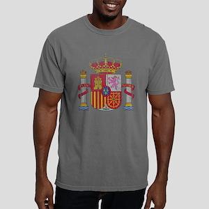 Spain Coat of Arms wood. Mens Comfort Colors Shirt