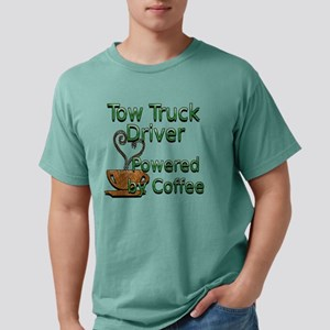 coffee tow truck Mens Comfort Colors Shirt