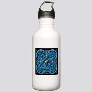 Blue Celtic Tapestry Stainless Water Bottle 1.0L