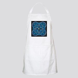 Blue Celtic Tapestry Apron