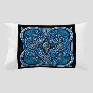 Blue Celtic Tapestry Pillow Case