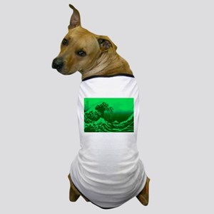 The Great Wave Off (Green) - Dog T-Shirt