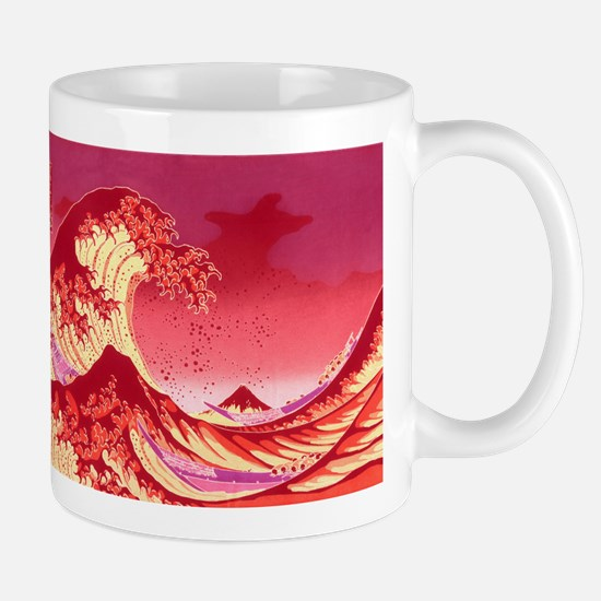 The Great Wave Off (Red) - Mug