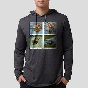 Field Quad Mens Hooded Shirt