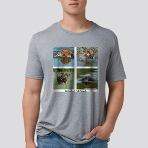 Field Quad Mens Tri-blend T-Shirt