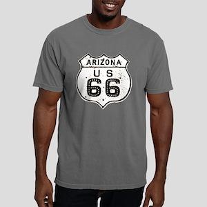 Route 66 Old Sign Arizon Mens Comfort Colors Shirt