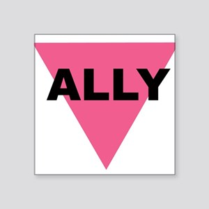 Ally Rectangle Sticker
