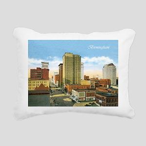 Vintage Birmingham Rectangular Canvas Pillow