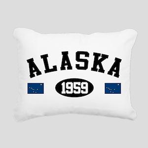 Alaska 1959 Rectangular Canvas Pillow
