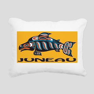 Alaska Juneau Rectangular Canvas Pillow