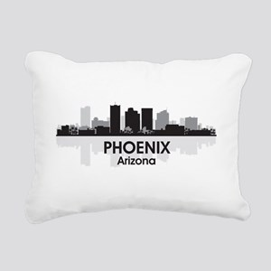 Phoenix Skyline Rectangular Canvas Pillow