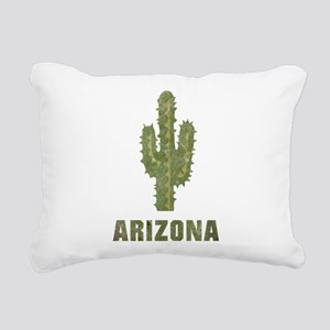 Vintage Arizona Rectangular Canvas Pillow