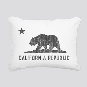 Vintage California Republic Rectangular Canvas Pil