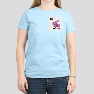 PIRATE BOOTY Women's Pink T-Shirt