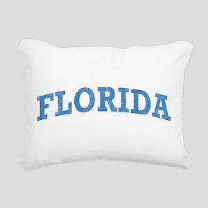 Vintage Florida Rectangular Canvas Pillow