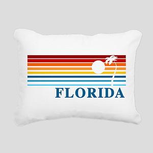 Florida Rectangular Canvas Pillow