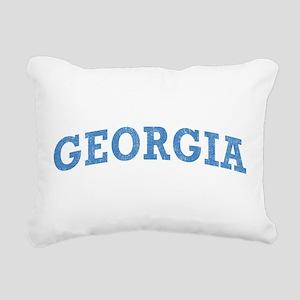 Vintage Georgia Rectangular Canvas Pillow