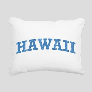 Vintage Hawaii Rectangular Canvas Pillow
