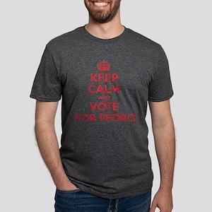 K C Vote Pedro Mens Tri-blend T-Shirt