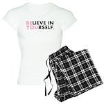 Believe in Yourself Women's Light Pajamas