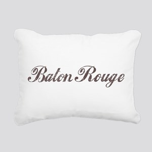 Vintage Baton Rouge Rectangular Canvas Pillow