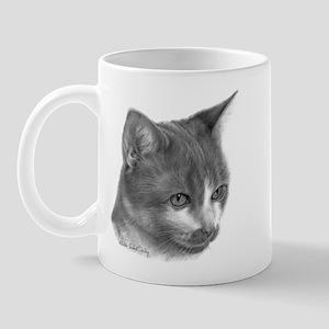 Orange & White Short-Hair Cat Mug