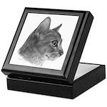 Abysinnian Cat Keepsake Box