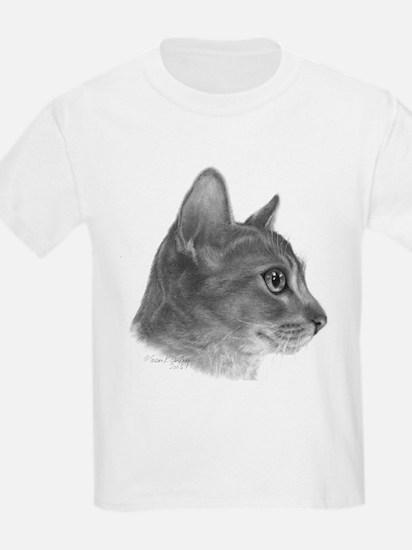 Abysinnian Cat Kids T-Shirt