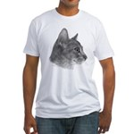 Abysinnian Cat Fitted T-Shirt