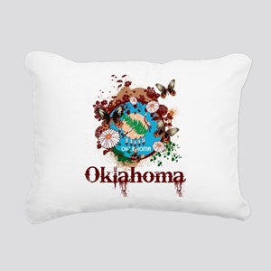 Stylish Oklahoma Rectangular Canvas Pillow