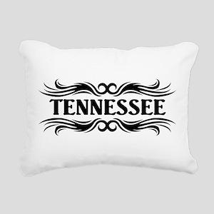 Tribal Tennessee Rectangular Canvas Pillow