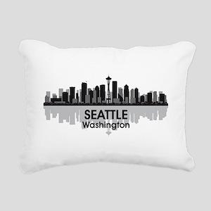 Seattle Rectangular Canvas Pillow