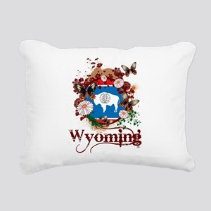 Butterfly Wyoming Rectangular Canvas Pillow