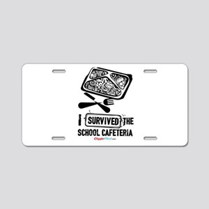 School Cafeteria 02 Aluminum License Plate