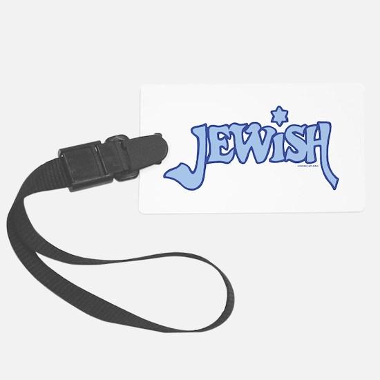 Jewish Luggage Tag w/ID