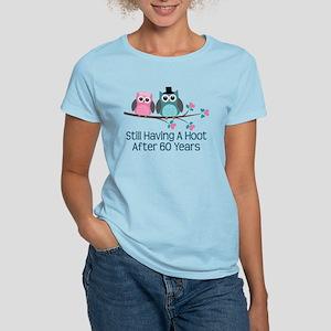 60th Anniversay Owls Women's Light T-Shirt