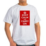 Keep Calm and Carry On Light T-Shirt